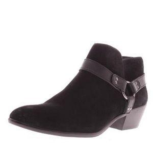 Sam Edelman Phoenix black suede leather boots 7.5